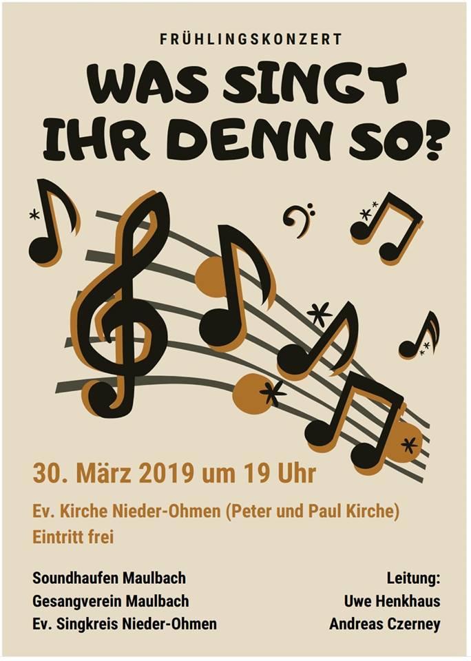 Konzert in Nieder-Ohmen